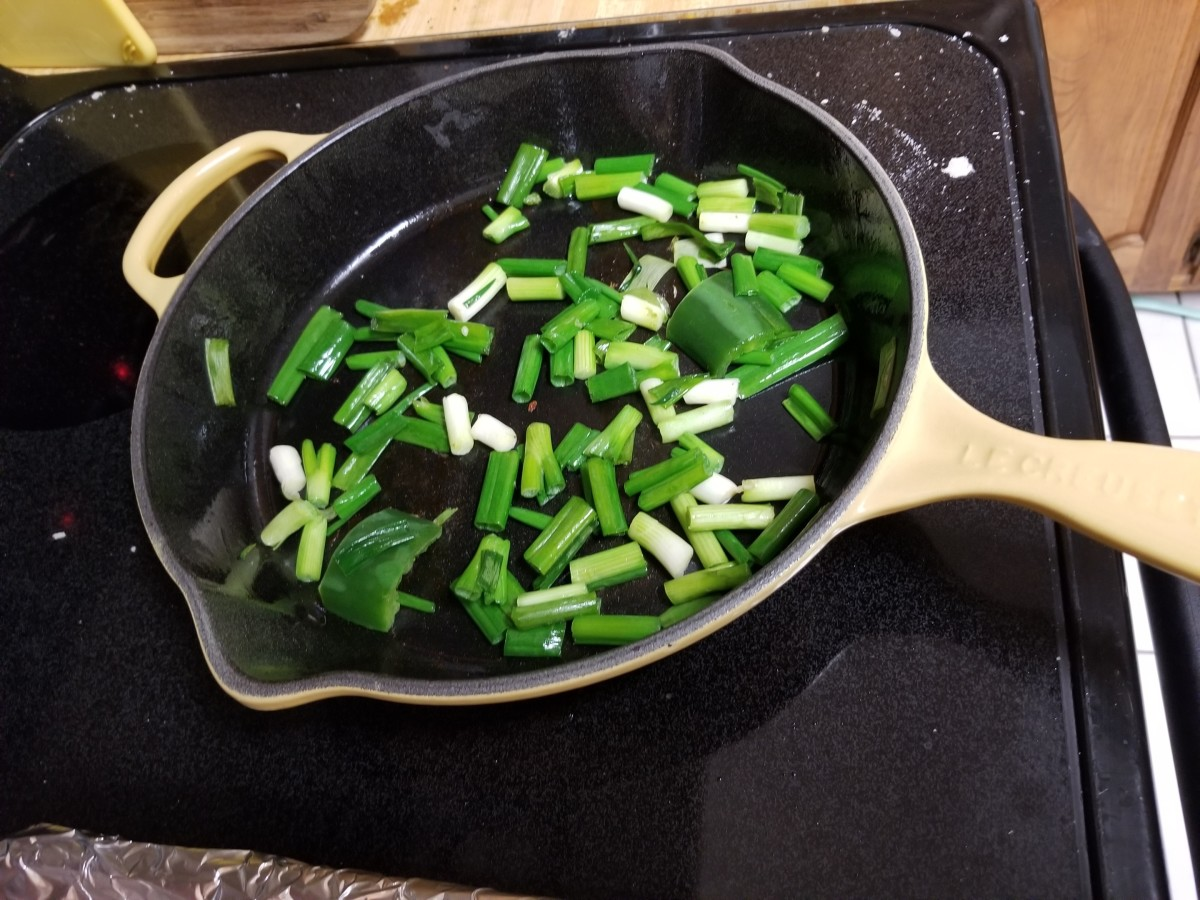 Time to stir-fry those veggies.