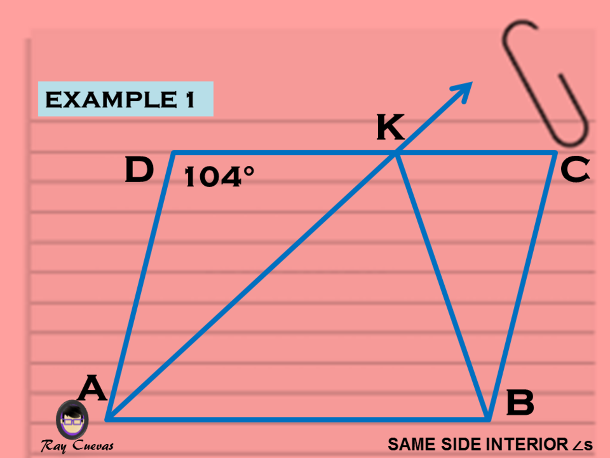 Example 1: Finding the Angle Measures Using Same-Side Interior Angles Theorem