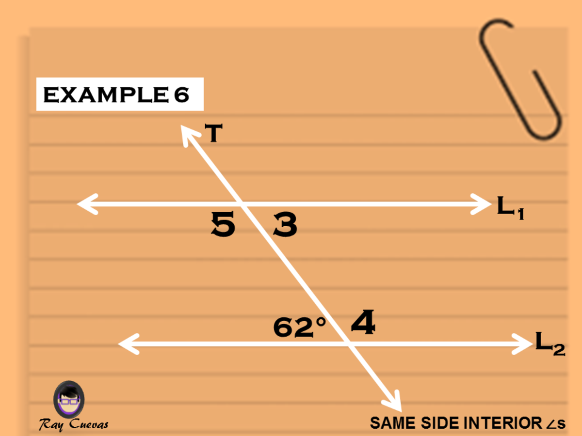 Example 6: Finding the Angle Measure of All Same-Side Interior Angles