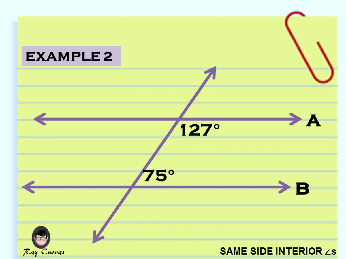 Example 2: Determining if Two Lines Cut by Transversal Are Parallel