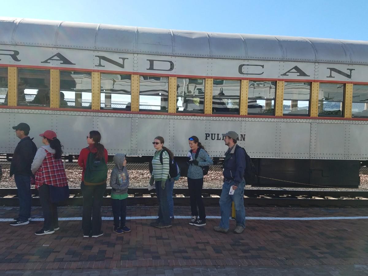 Pullman class train car.