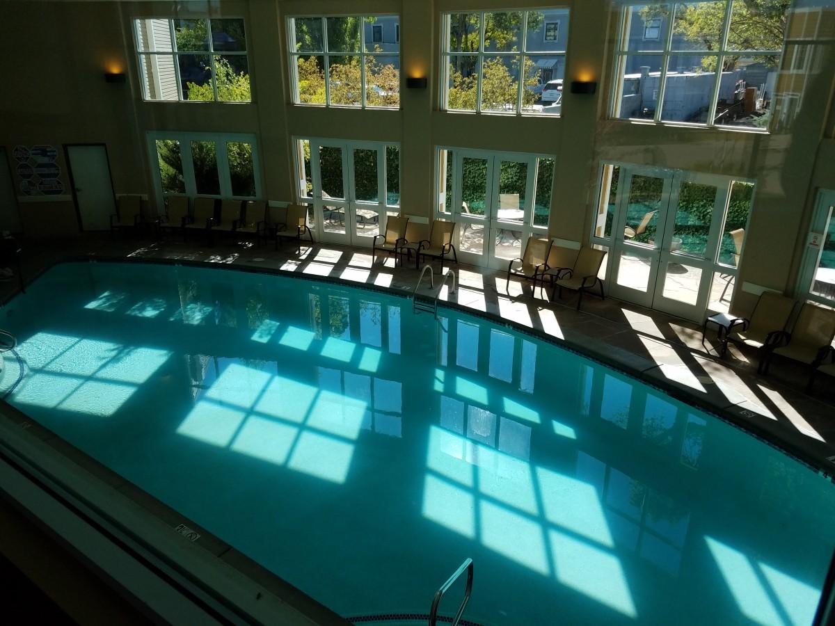 Grand Canyon Railway Hotel swimming pool.