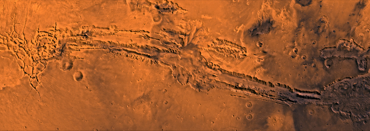 Valles Marineris: Grand Canyon XXL size