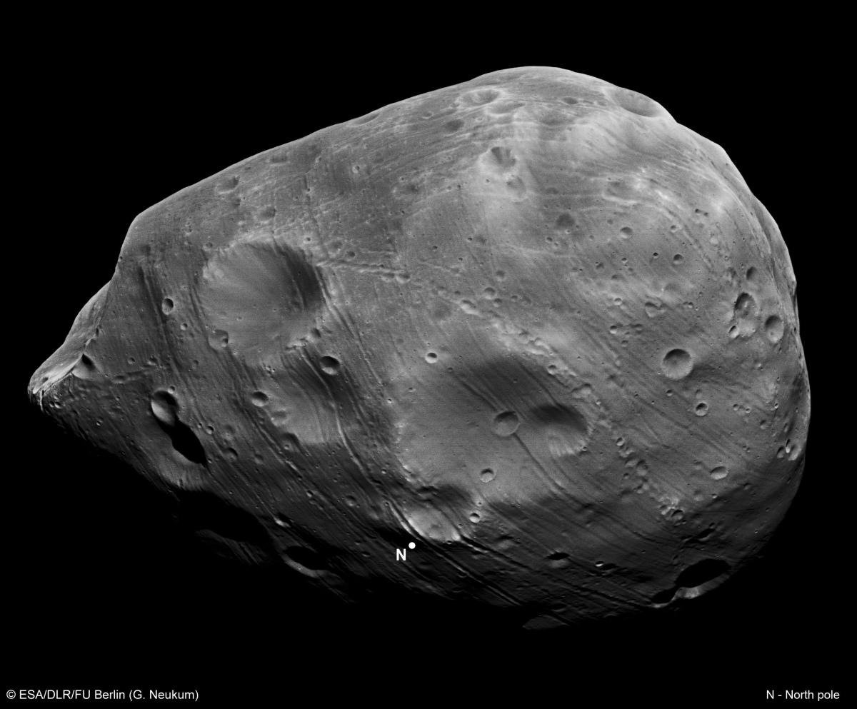 Phobos: not the roundness earthlings are used to