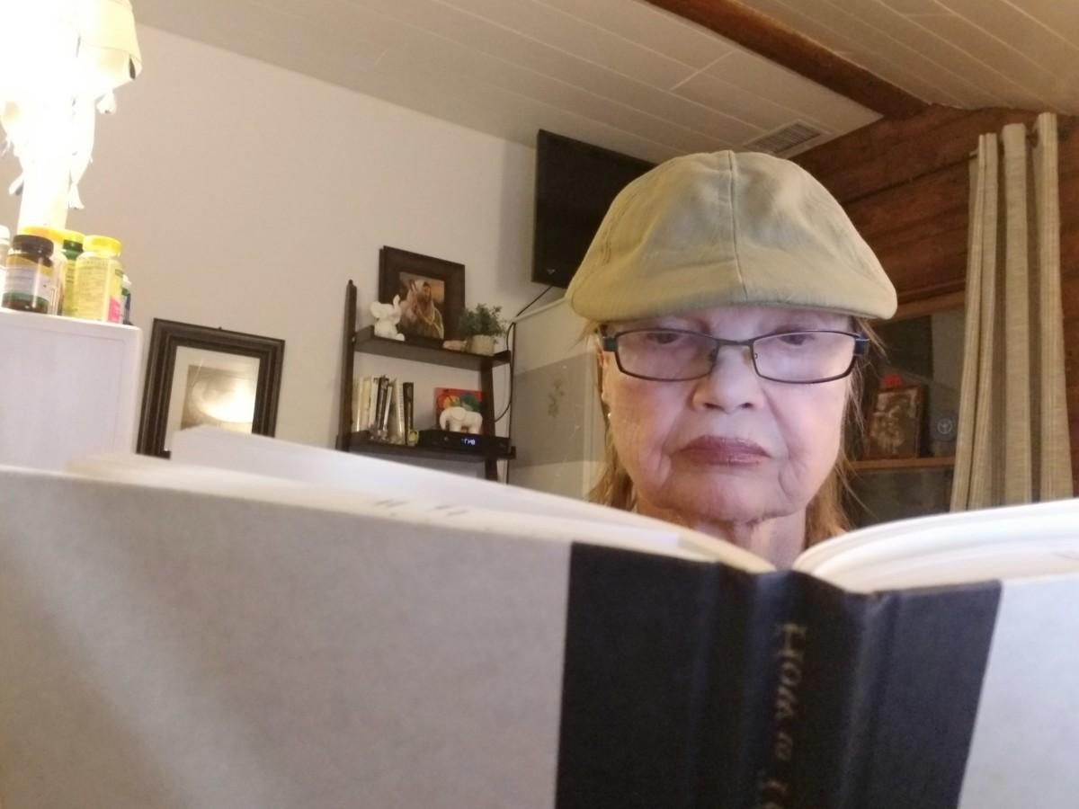 "Audrey's inspiration for her poem.Michael J. Gelb's "" How to Think Like Leonardo da Vinci."""