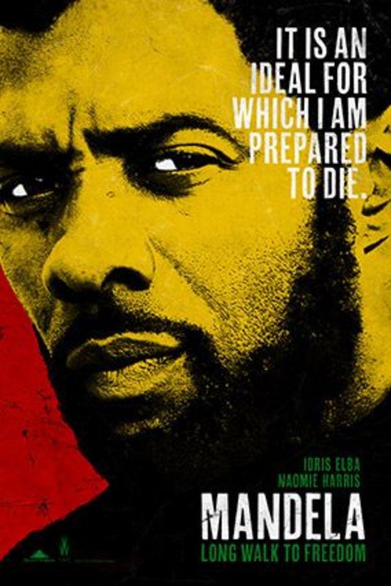 Idris Elba Mandela Poster