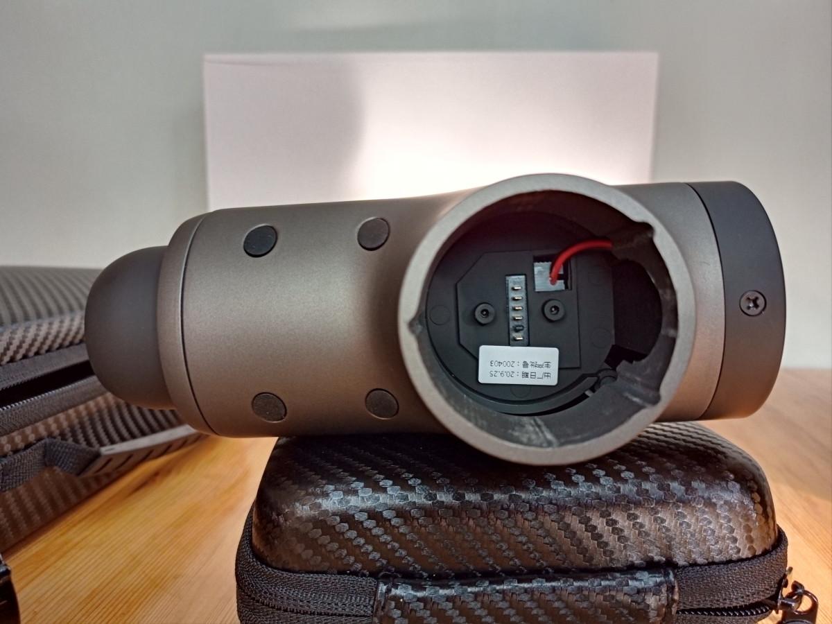 Mebak 3 massage gun with battery removed