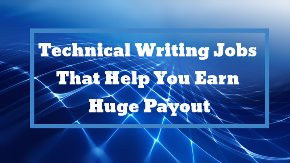 Technical Writing Jobs That Help You Earn Huge Payout