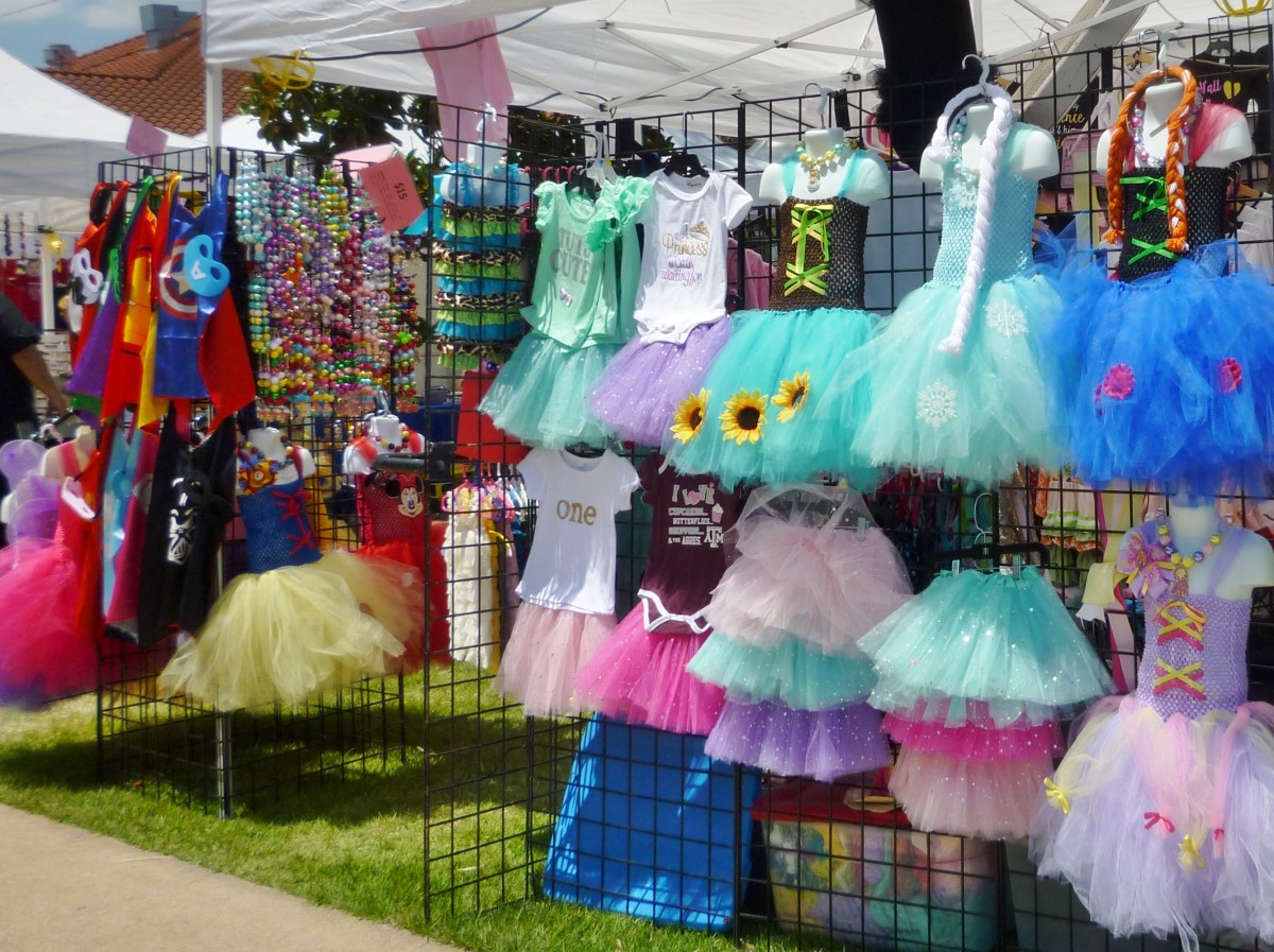 Items for sale at the Polish Festival Houston