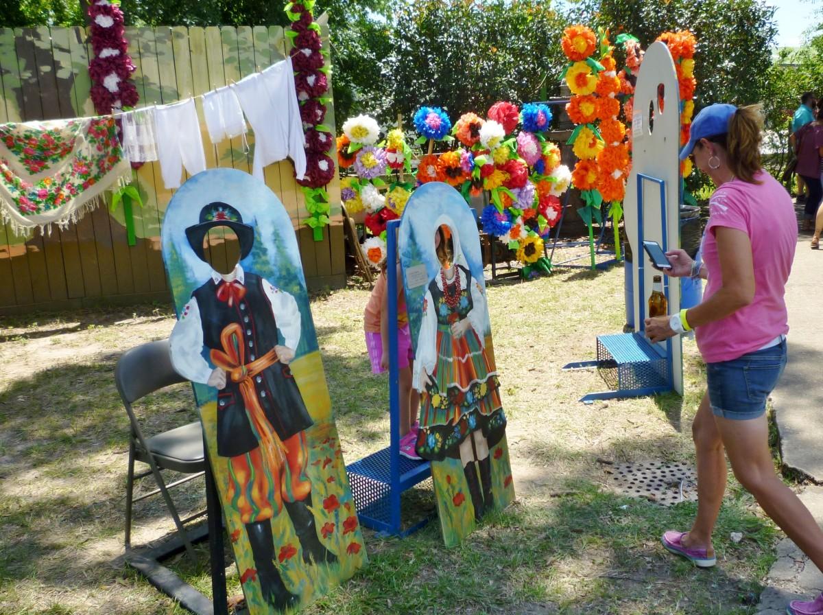 More Decorations at the Houston Polish Festival