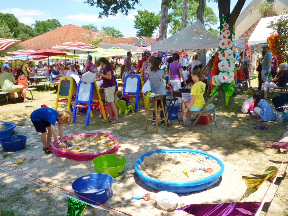 More attractions for children at the Polish Festival