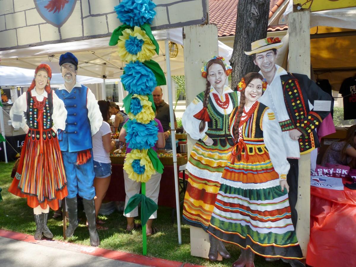 Polish Festival Houston Decorations