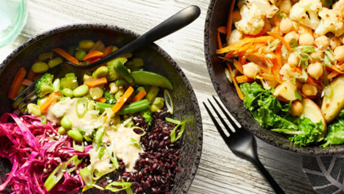 """Straight From """"Forks Over Knives"""" Website """"How To Make a Buddha Bowl"""""""