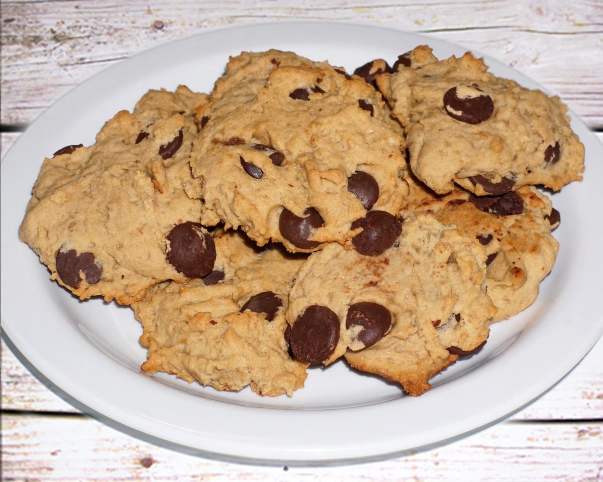 Dark Chocolate Chip Cookie Recipe (Dairy and Egg Free)