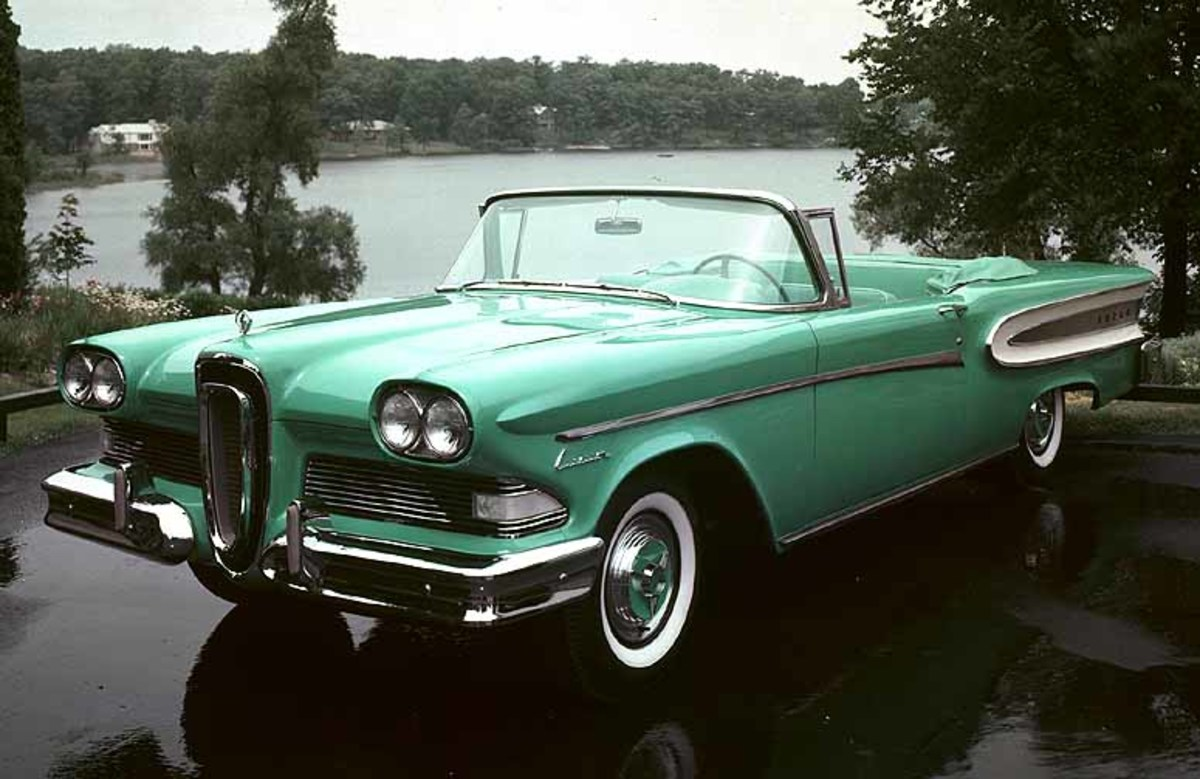 Old Classic Car - Ford Edsel