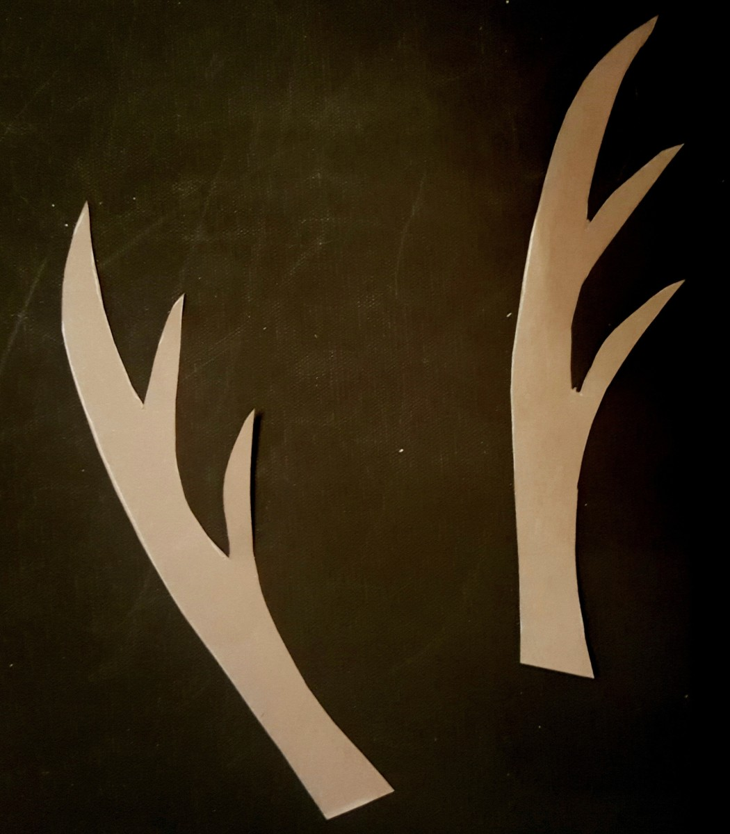 Finished Antlers