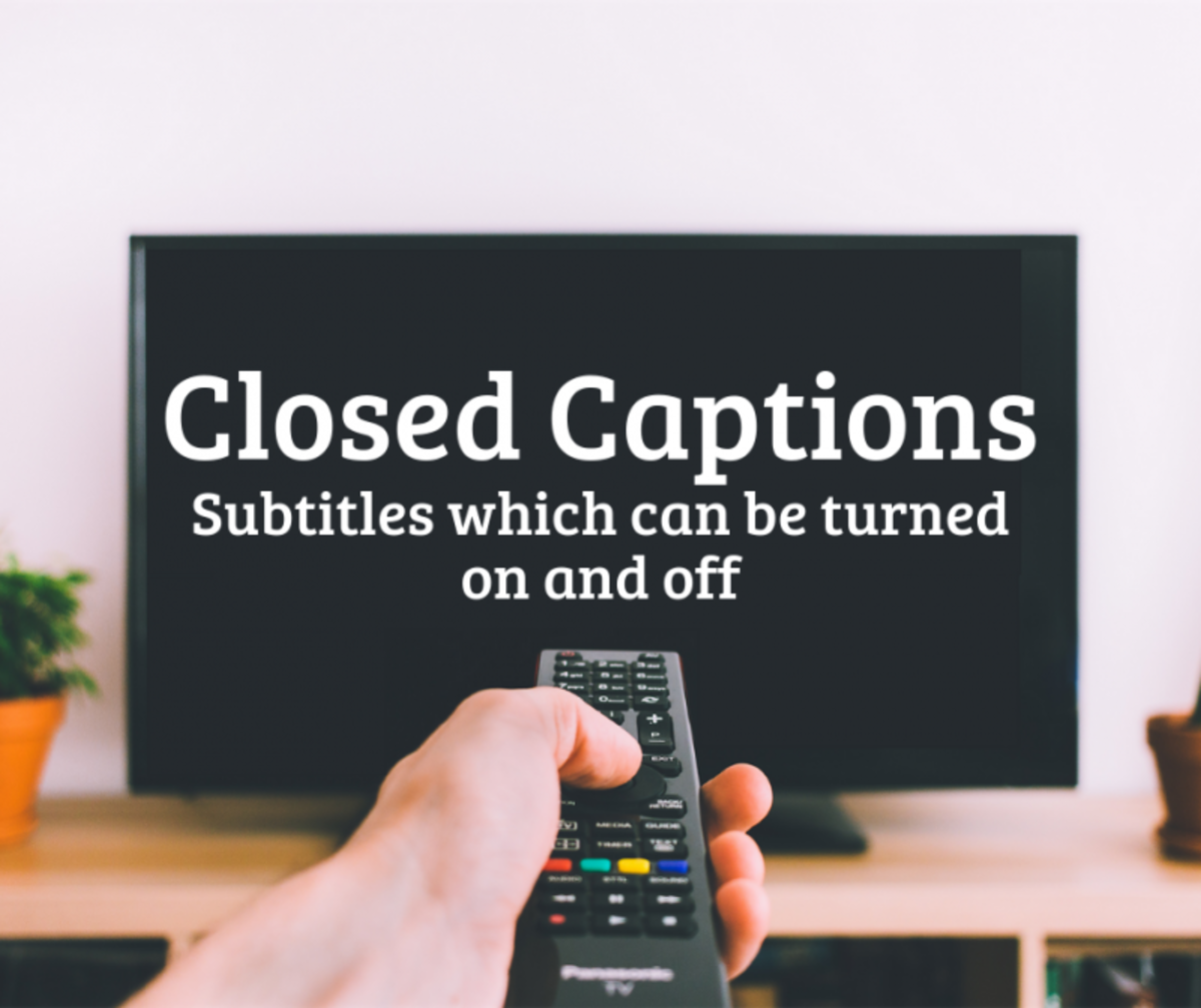 Subtitles and Closed Captions