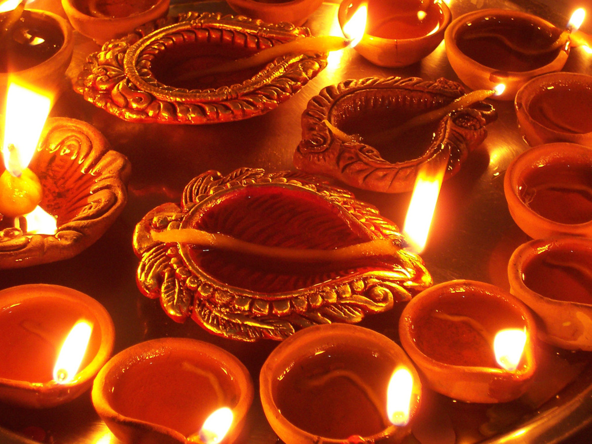 Diwali celebration picture india