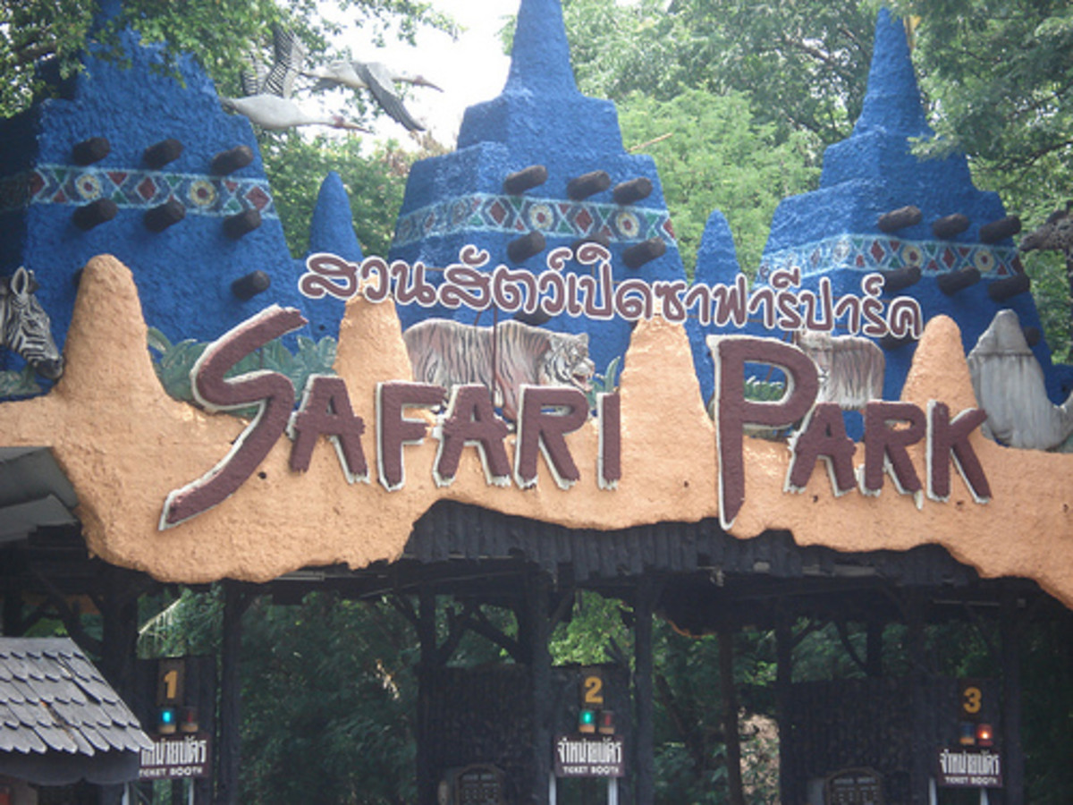 Safari World in Bangkok Thailand