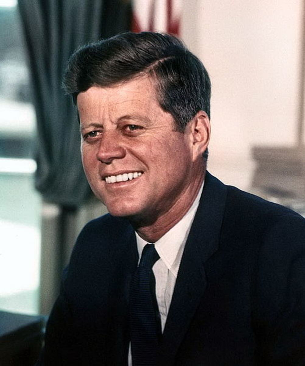 Former President John F. Kennedy said aliens from other worlds are here.