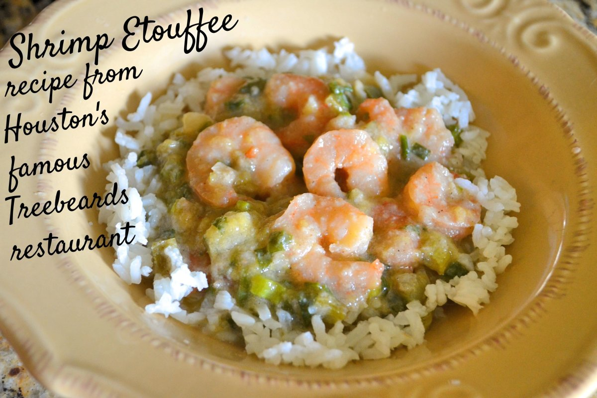 Treebeards Shrimp Etouffee Recipe