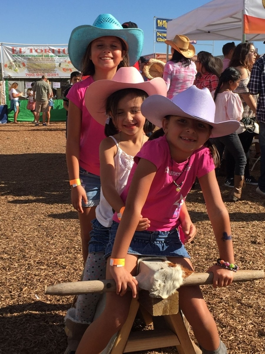 Family fun at the Rodeo!