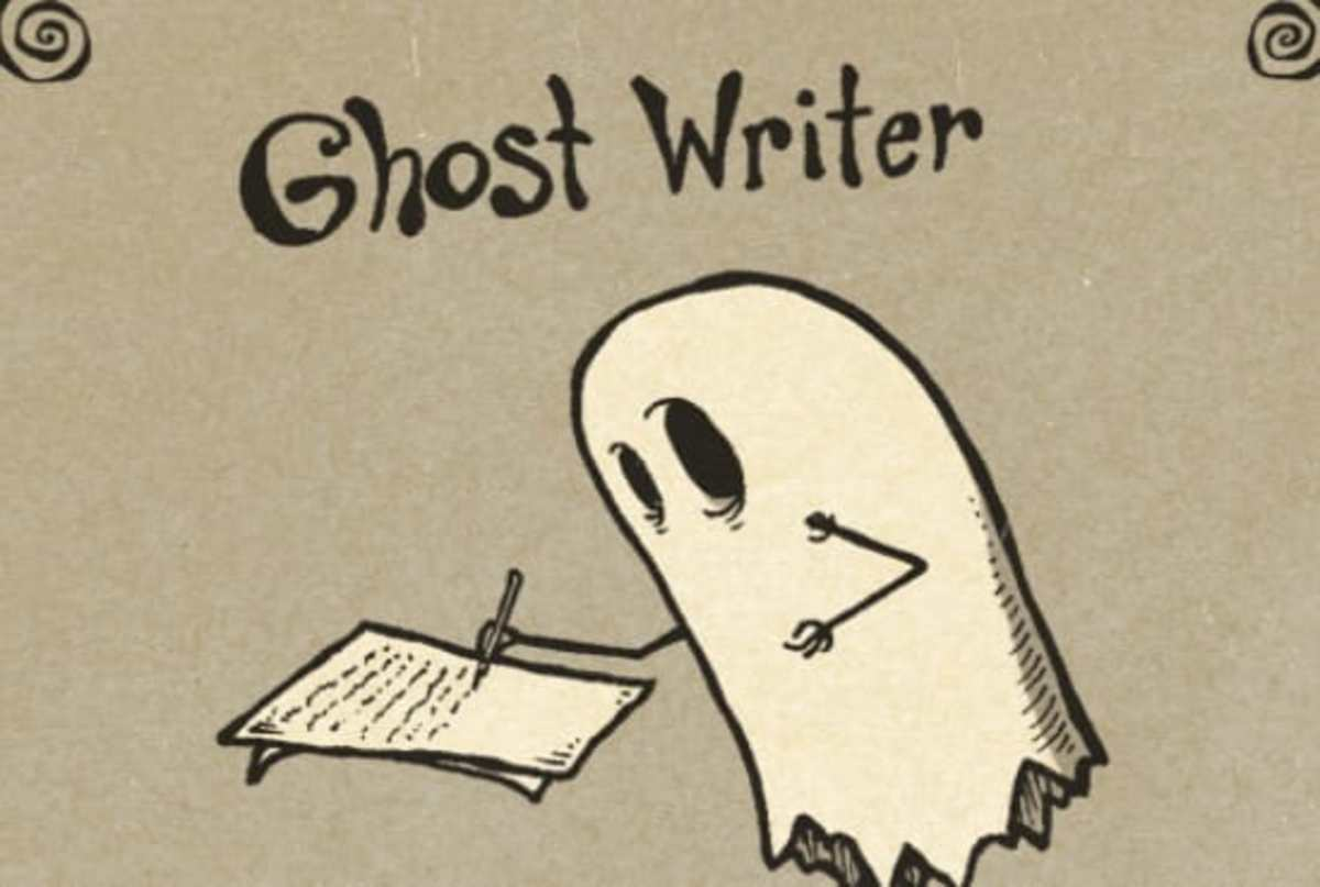 You Can Work Behind Closed Doors and Still Make a Fortune. A Life of a Ghostwriter