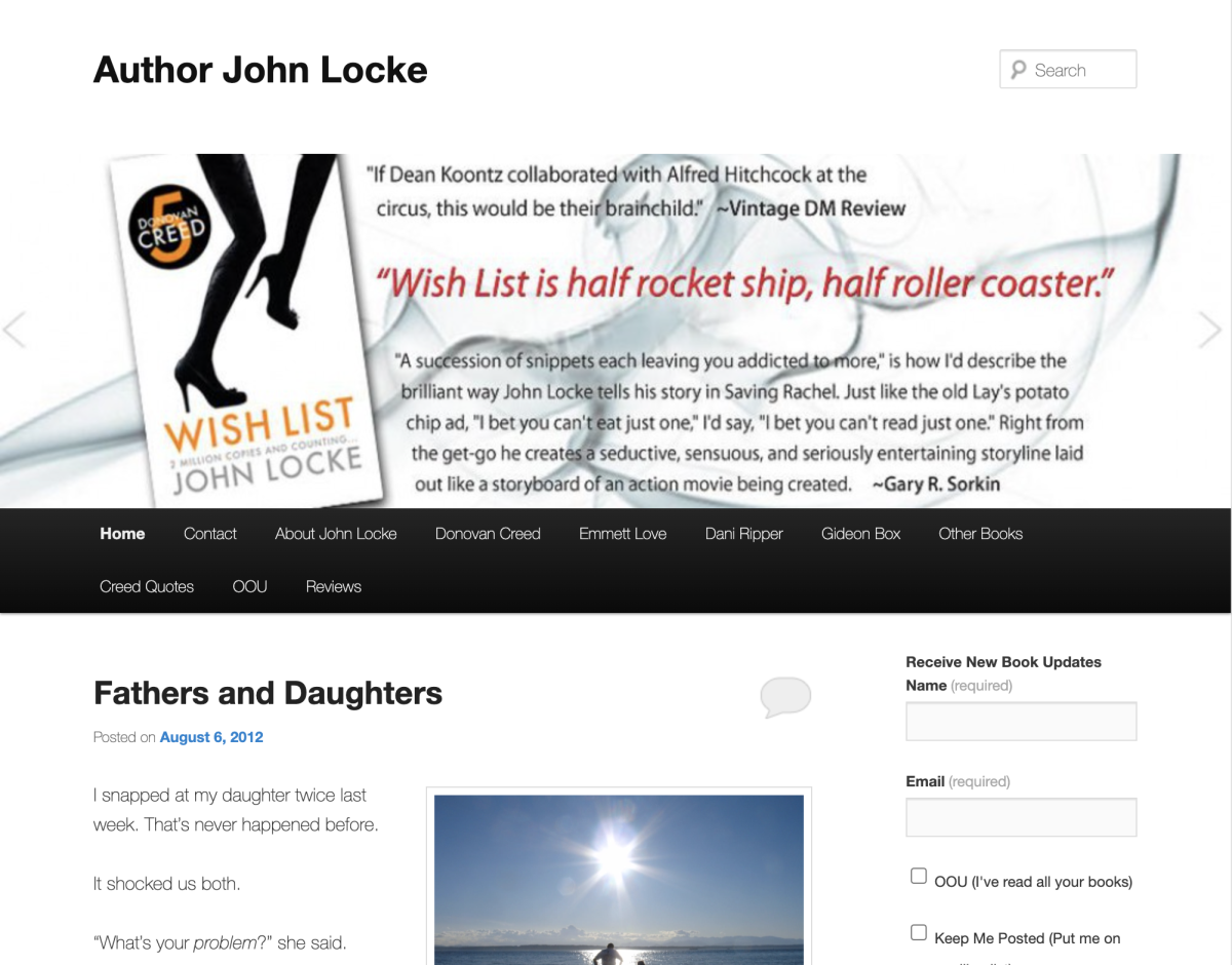 John Locke's website
