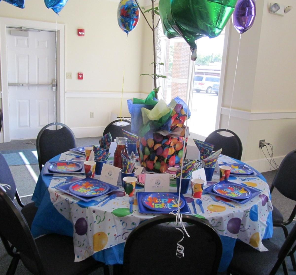 225 Birthday Party by Davie Kirkley