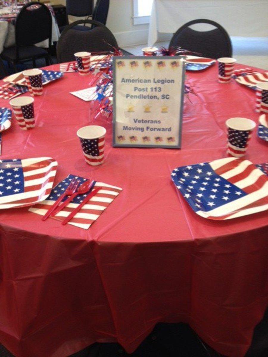 Veterans Moving Forward Table 2 by American Legion