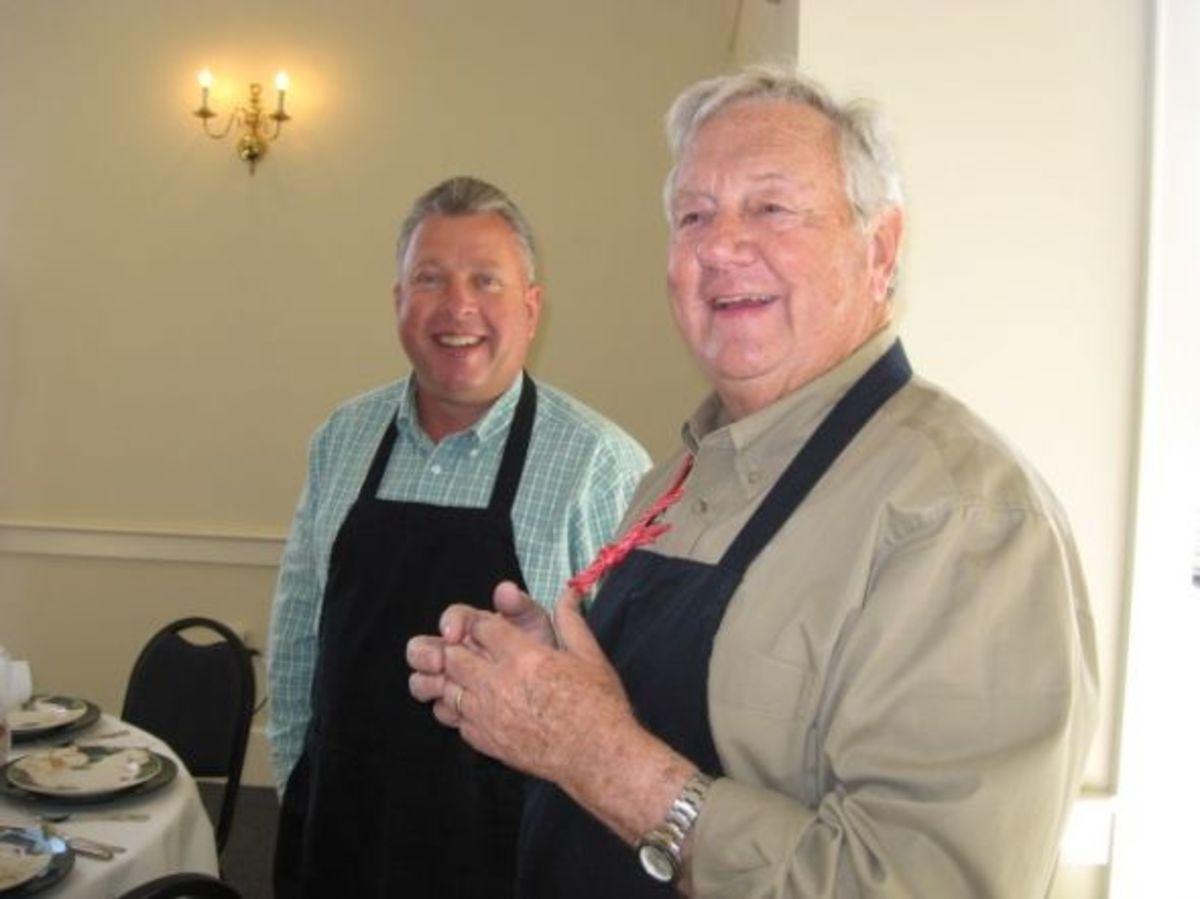 Bill Beck and Ed Kirkley - servers