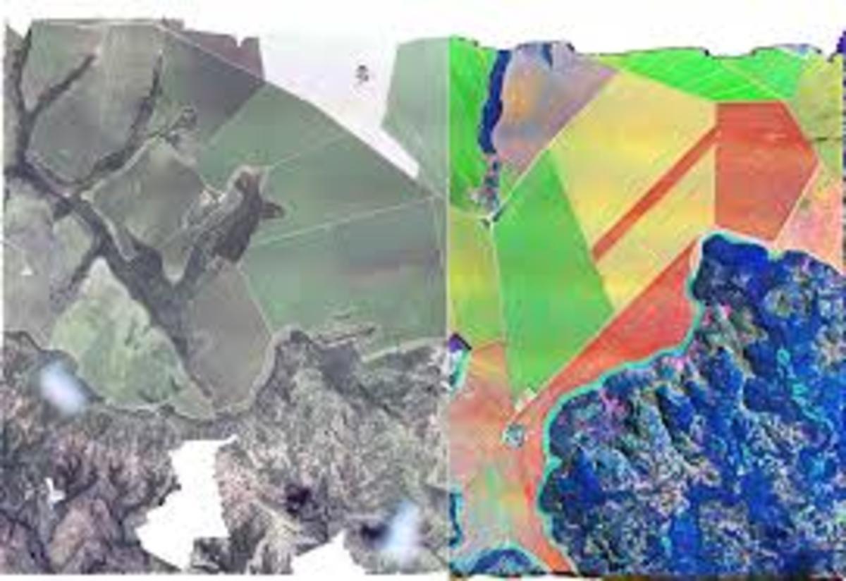 Multispectral Vs Hyperspectral Image