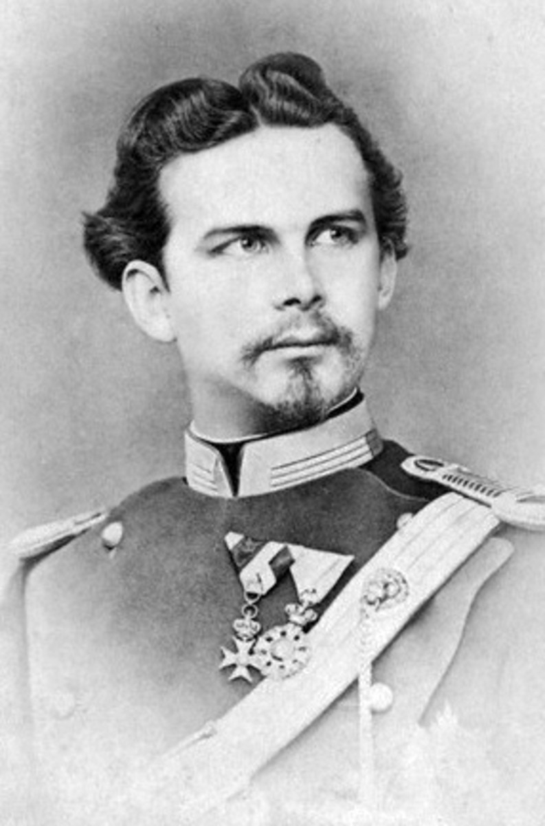 King Ludwig II of Bavaria.