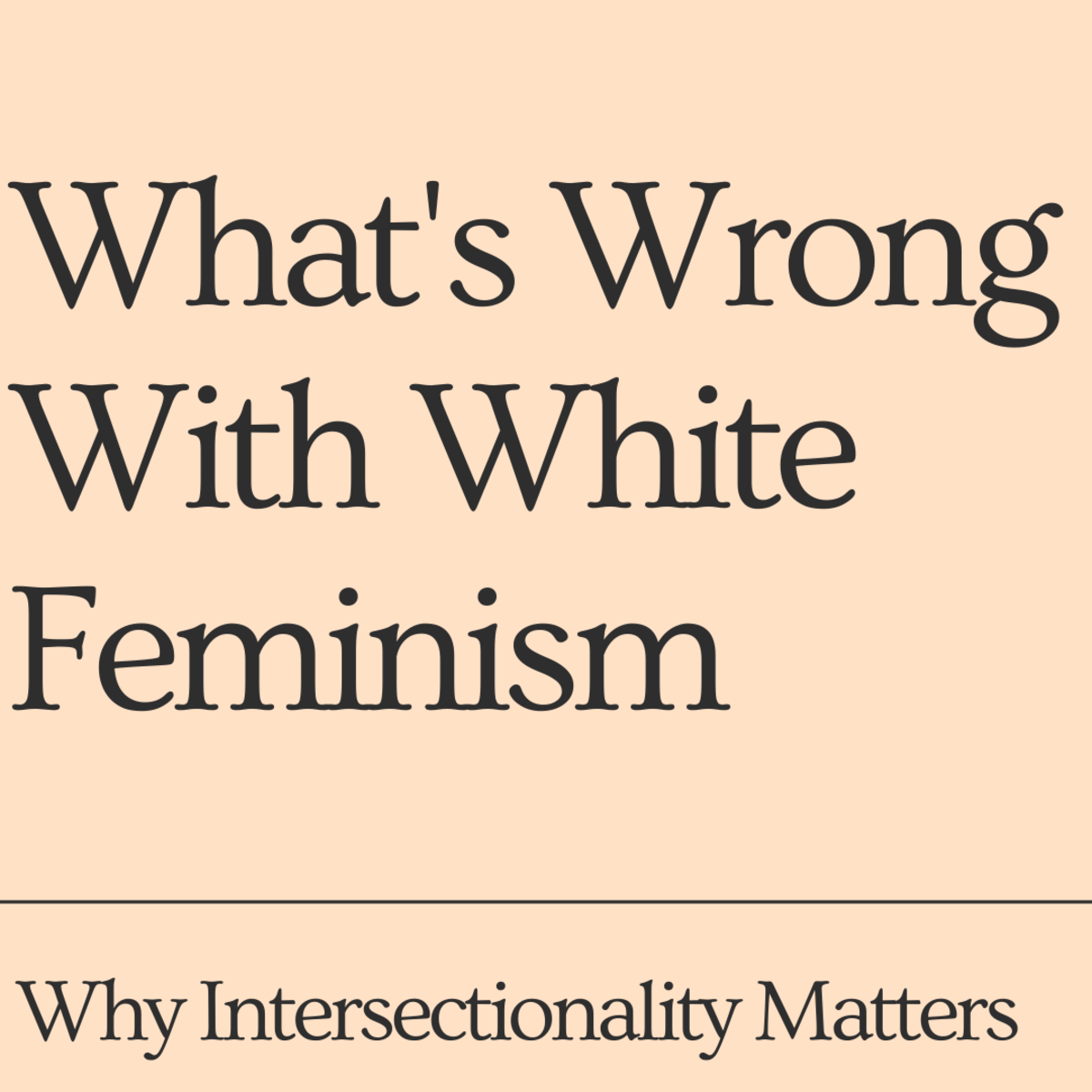 Learn about intersectionality and why it's important.