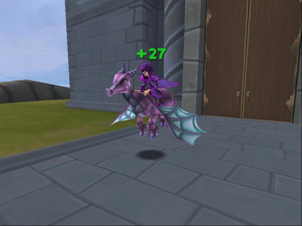 My storm wizard in her full Waterworks set.