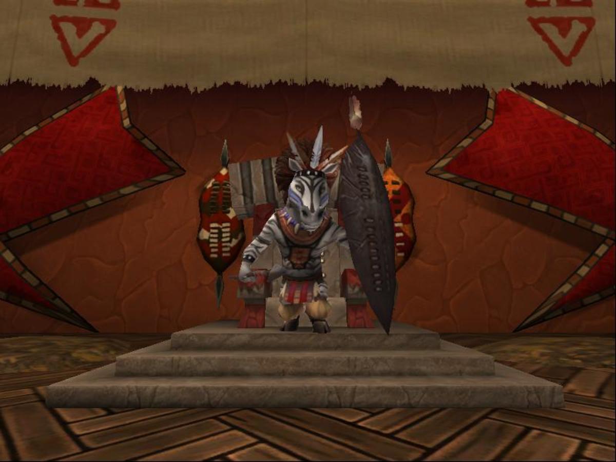 Shaka Zebu, the greatest living Zebra warrior.