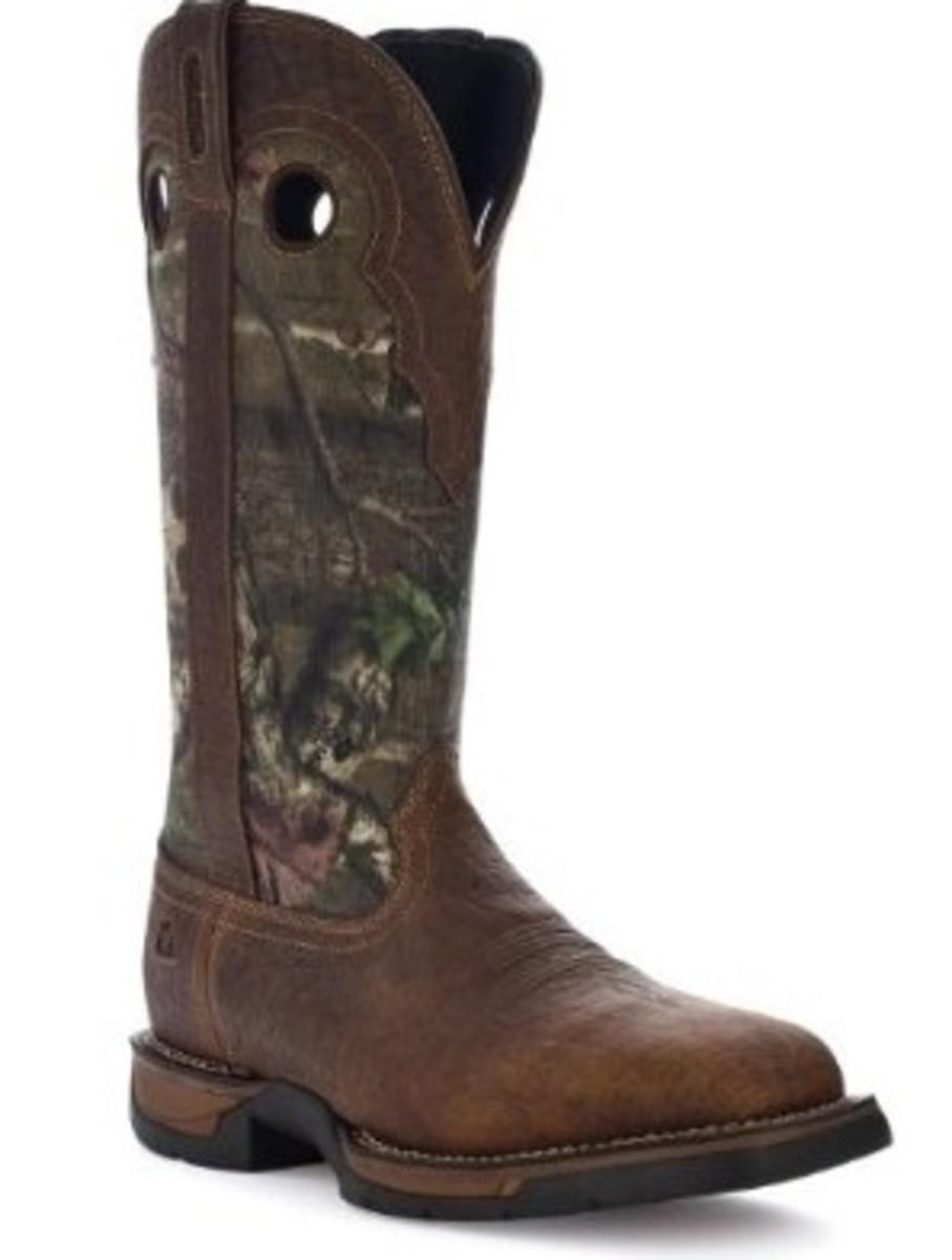 """Rocky Men's 15"""" Long Range Side Zipper WaterProof Snakeproof Boot-9041"""