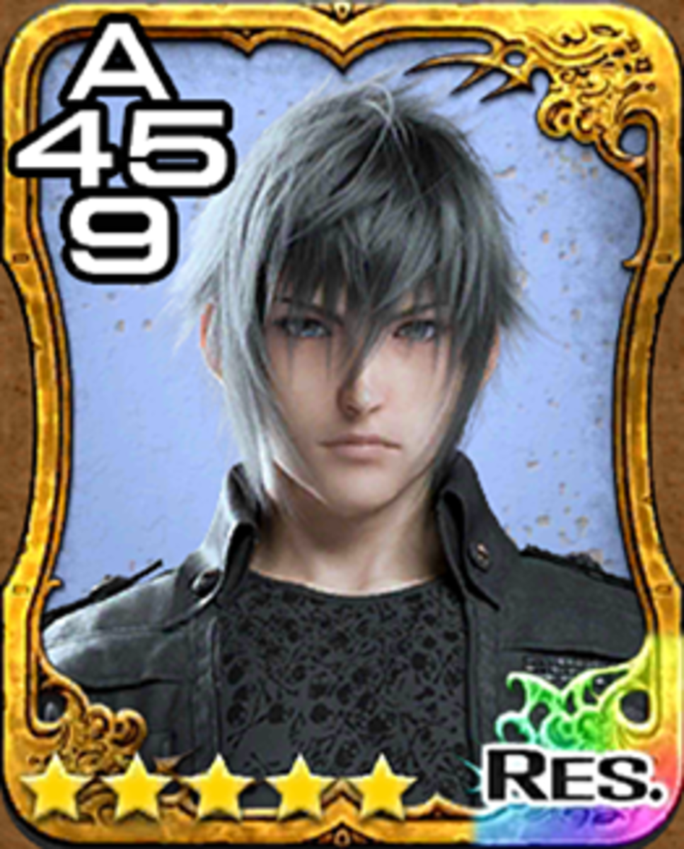 Noctis Triple Triad Card