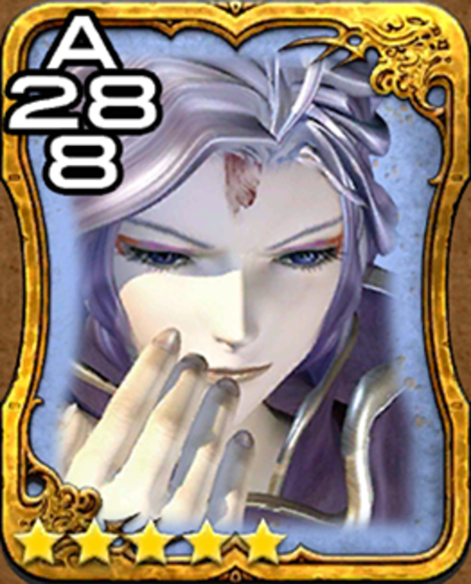 Kuja Triple Triad Card