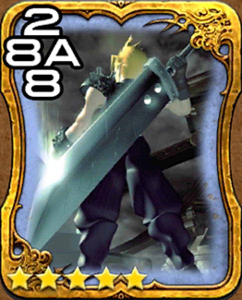 Cloud Triple Triad Card