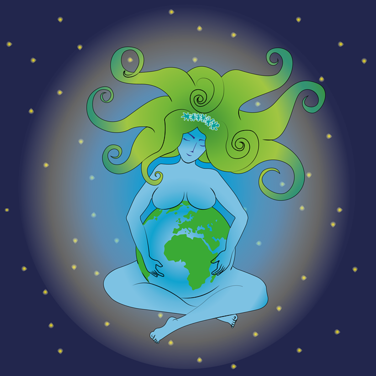 Mother Earth: Aragonite is commonly linked to the Earth Goddess because of its connection to the earthly realm.