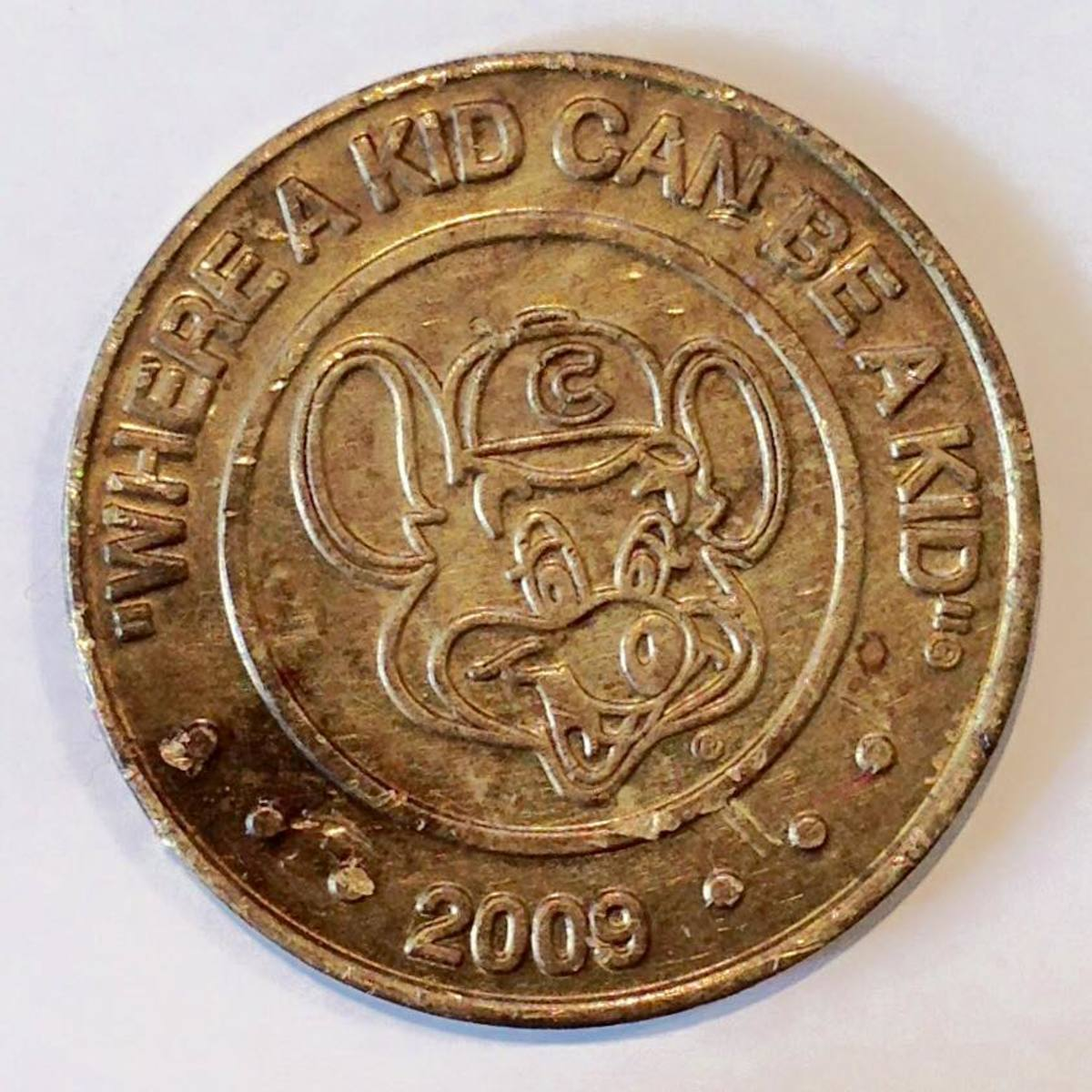 Finding monetary coins is easy. Finding a token like this is rare!