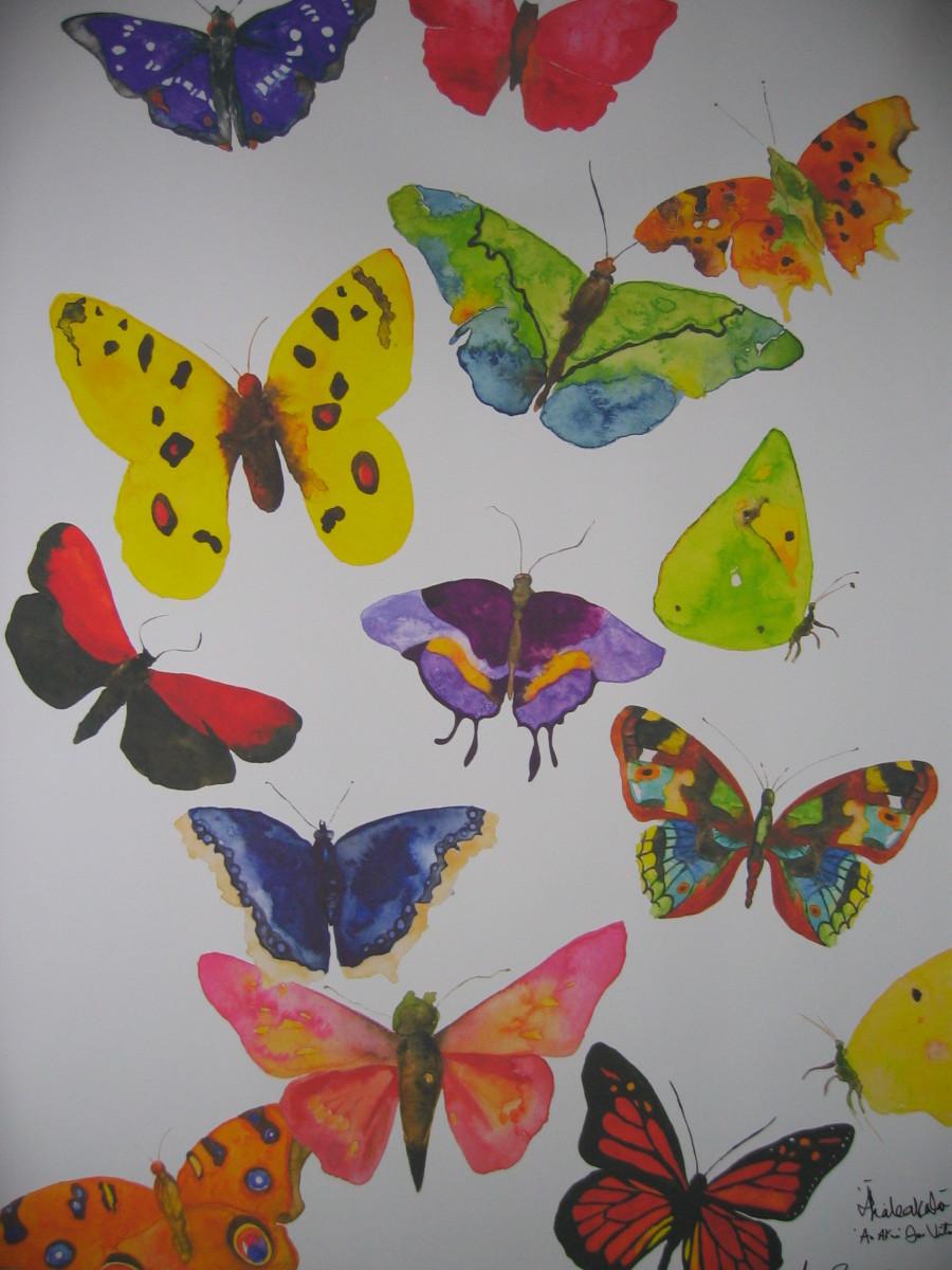 Butterfly, by Aimee Rousseau, www.healingpainting.com