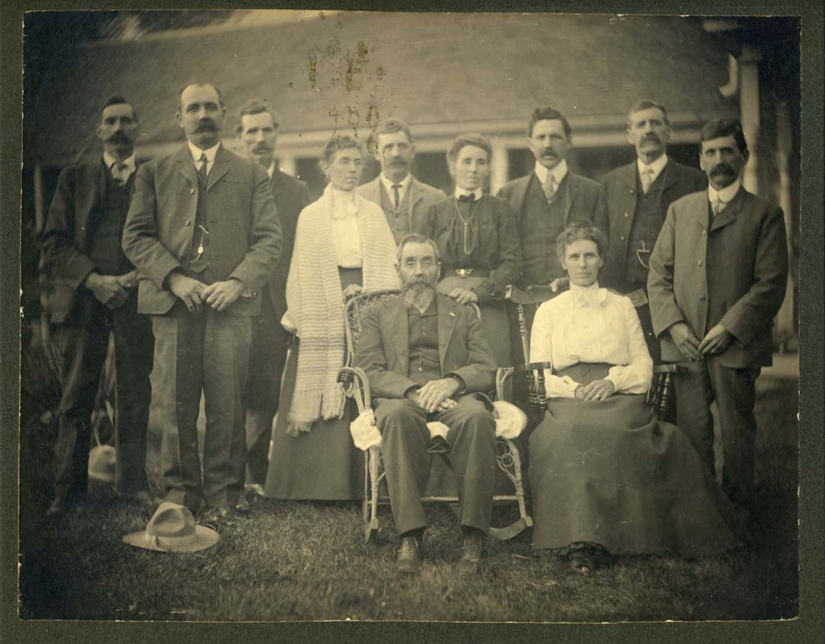William Lewis Cook, Hettie's grandfather is top right second person towards left.