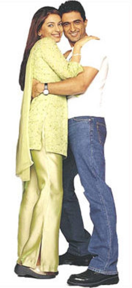 Juhi Chawla and Sanjay Suri in Jhankaar Beats.