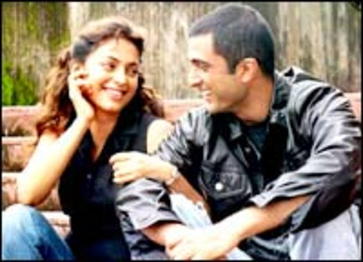 Juhi Chawla and Sanjay Suri in My Brother Nikhil.