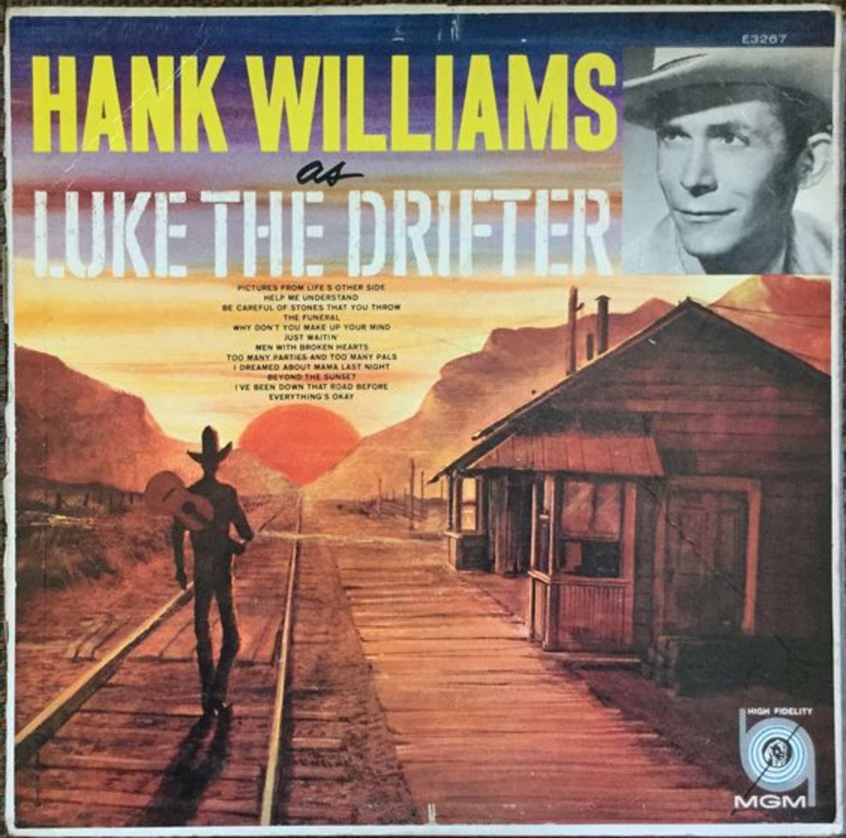 Luke, The Drifter, the name Hank, Sr, use to record songs by for a time.