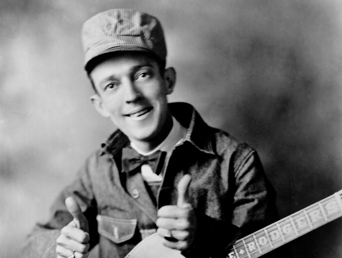 Jimmie Rodgers, the Father of Country Music.