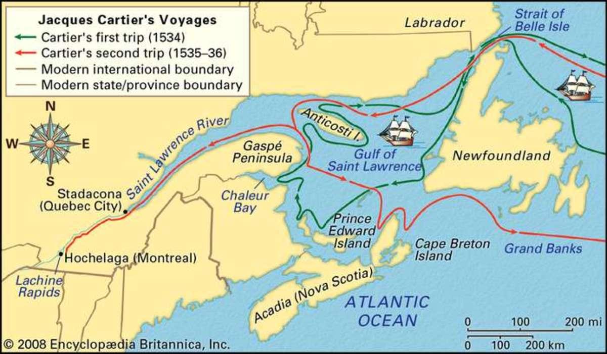 Cartier's Voyages