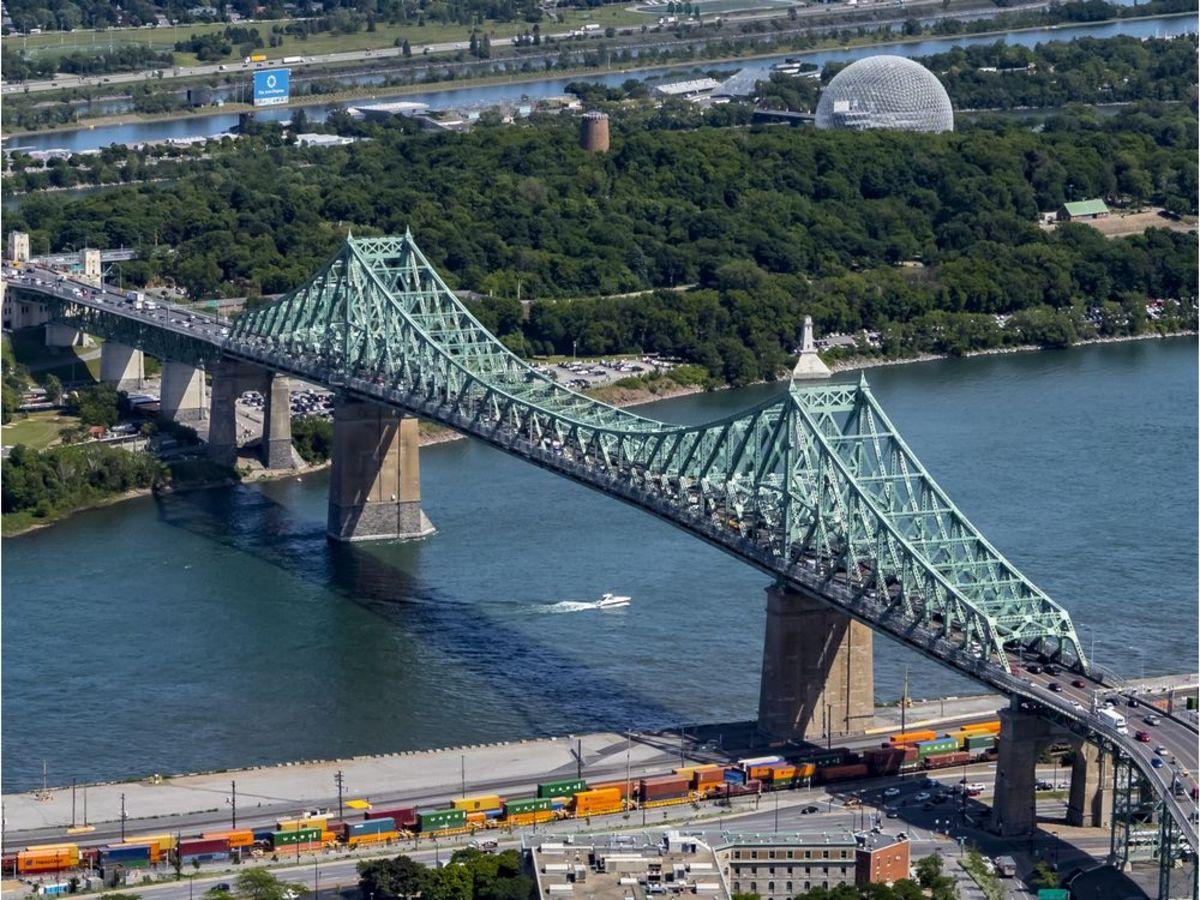 Cartier Bridge, Montreal